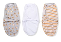 Summer Infant SwaddleMe zavinovačka S - lvi/proužky 3 ks