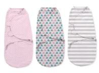 Summer Infant SwaddleMe zavinovačka S - růžová sada 3 ks