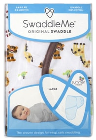 Summer Infant SwaddleMe zavinovačka - džungle
